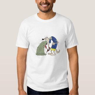 Vomiting dog tee shirt