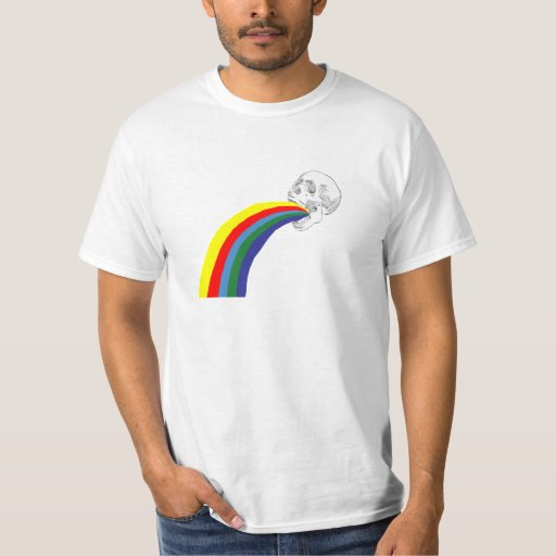 Vomiting skull Redesign T-Shirt