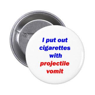 Vómito 2 del proyectil pins