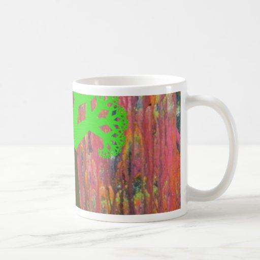 Vómito 2 del unicornio taza