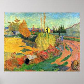 Von Arles de Eugène Enrique Paul Gauguin Posters