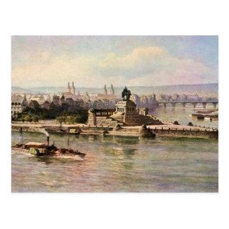 Von Astudin, Koblenz Rhein & Mosel Post Card