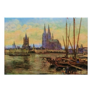 Von Astudin, Koeln am Rhein Print
