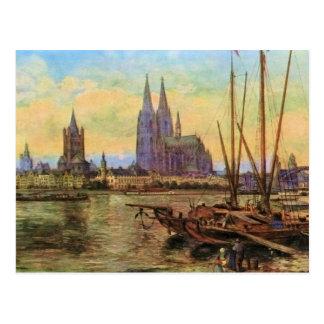 Von Astudin, Koeln Rhin Postales