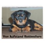 Von Aufstand Rottweilers Calendarios De Pared