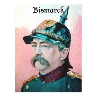 Von Bismarck con el subtítulo (public domain) Postal