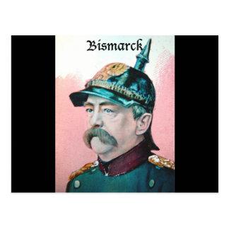 Von Bismarck con el subtítulo (public domain) Tarjeta Postal