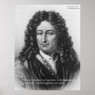 Von Leibniz Happiness de otras impresiones del pos