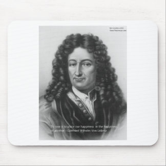 Von Leibniz Happiness Of Another Gifts & Cards Mouse Pad