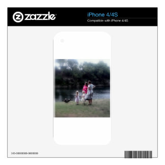 von michelle and girls.jpg decal for iPhone 4S