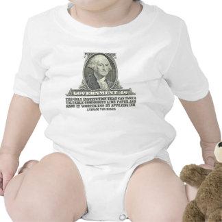 Von Mises en los billetes Trajes De Bebé