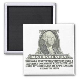 Von Mises on Paper Money Magnet