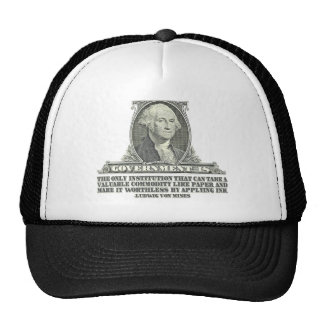 Von Mises on Paper Money Trucker Hat