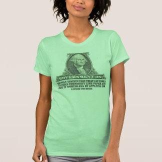 Von Mises on Paper Money Tee Shirt