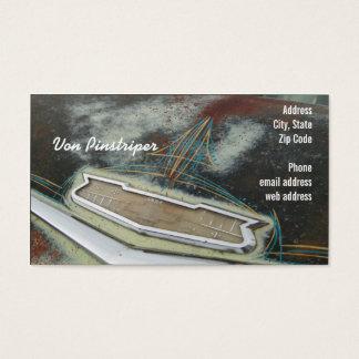 Von Pinstriper Business Card