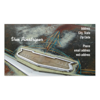Von Pinstriper Double-Sided Standard Business Cards (Pack Of 100)