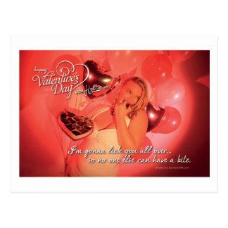 von Valentine - All Over Postcard