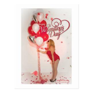 von Valentine Card - Balloons