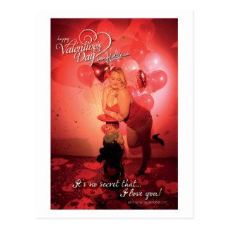 von Valentine - It's No Secret Postcard