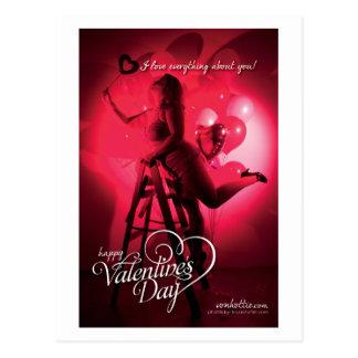 von Valentine - Love Everything About You Postcard