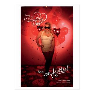 von Valentine - Love, von Hottie Postcard