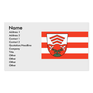 von Vlotho, Germany Double-Sided Standard Business Cards (Pack Of 100)