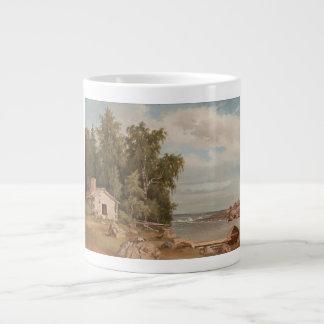 Von Wright's Lehtisaari mugs 20 Oz Large Ceramic Coffee Mug