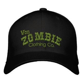 Von Zombie Skull Cap 003B Embroidered Baseball Cap