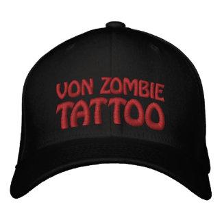 Von Zombie Tattoo 001 Embroidered Baseball Hat
