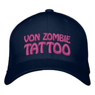Von Zombie Tattoo 001BB Embroidered Baseball Hat