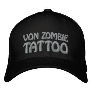 Von Zombie Tattoo 001FF Embroidered Baseball Cap