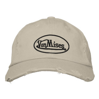 vonmises cap embroidered hats