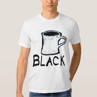 Vonnegut Coffee Cup Drawing Shirt