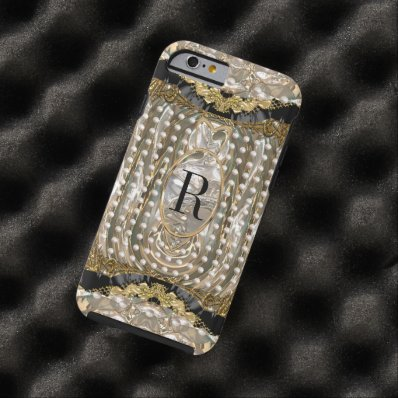 Vonrowes Oyster Monogram 6/6s Tough iPhone 6 Case