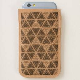 Vonster Triangular Tribal Pattern iPhone 6/6S Case