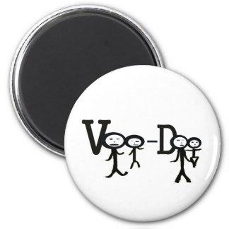 voo Doo 2 Inch Round Magnet