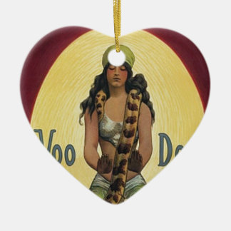 Voo Doo Ceramic Ornament