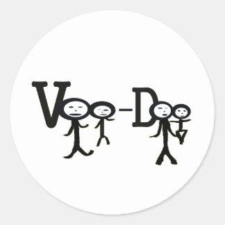 voo Doo Classic Round Sticker