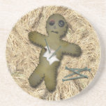 Voo Doo Doll - Interactive (Move the Pins) Beverage Coaster