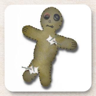 Voo Doo Doll (Pre-stuck with pins) Beverage Coasters
