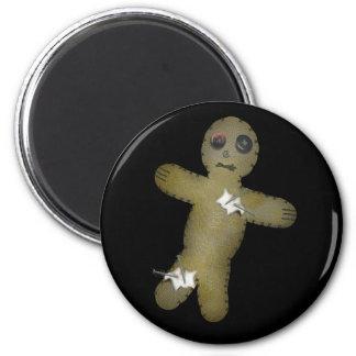 Voo Doo Doll w/Pins 2 Inch Round Magnet