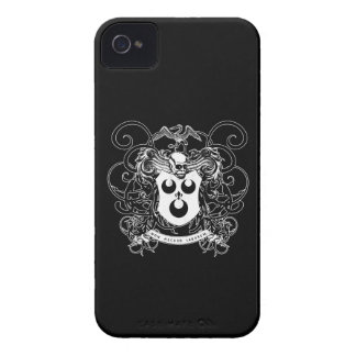 Voodoo Art Black and White iPhone 4 Case