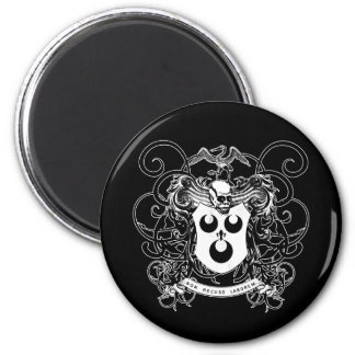 Voodoo Art Black and White Magnets