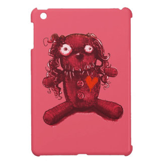voodoo baby red heart iPad mini cover