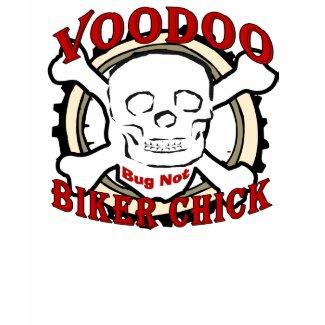 Voodoo Biker Chick shirt
