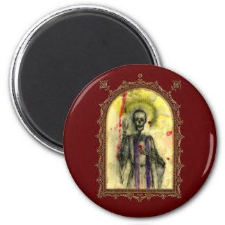 VooDoo Blues Bishop 2 Inch Round Magnet