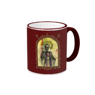 VooDoo Blues Bishop Ringer Coffee Mug