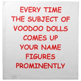 voodoo cloth napkin