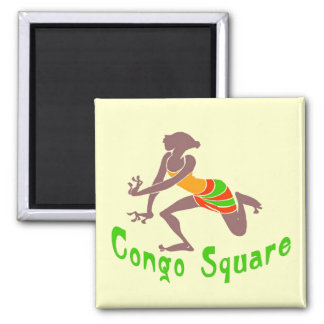 Voodoo Dancer Congo Square Refrigerator Magnet
