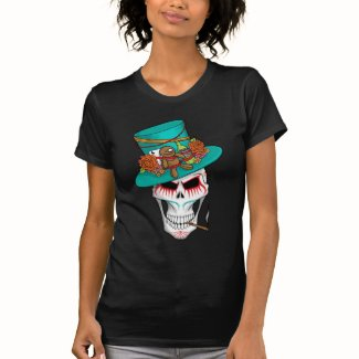Voodoo Day of the Dead T Shirts